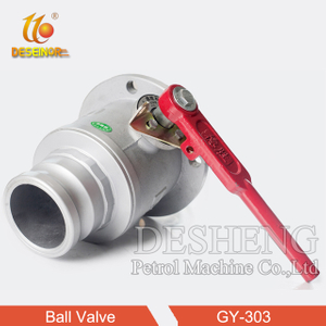GY-303 Round Flange Female ball valve
