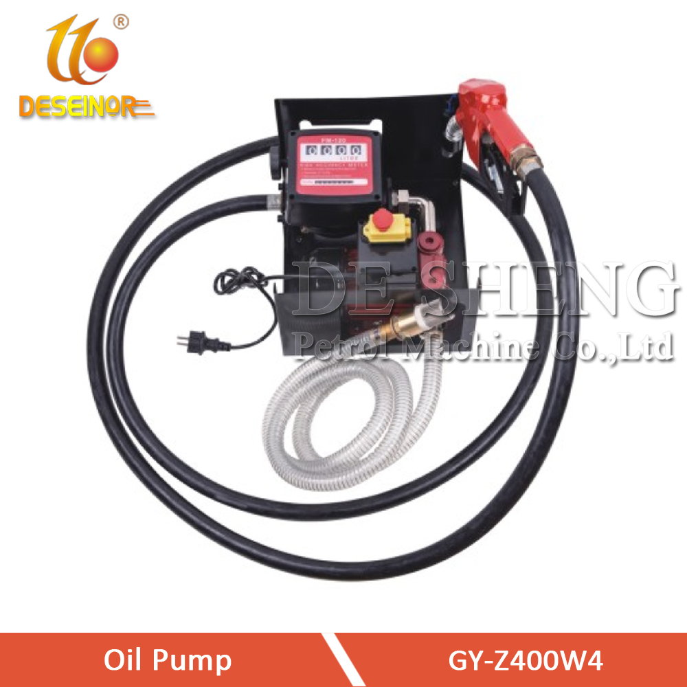 GY-Z400W4 Diesel Transfer Pump with Meter